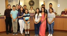 DCC's Teen Arts and Action Program (TAAP) Presented their Documentary to the Mayor and City Council